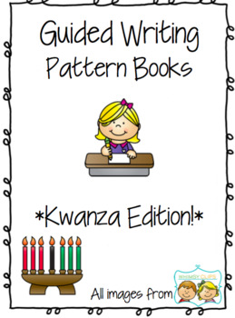 Writer clipart guided writing. Kwanza pattern prompts for