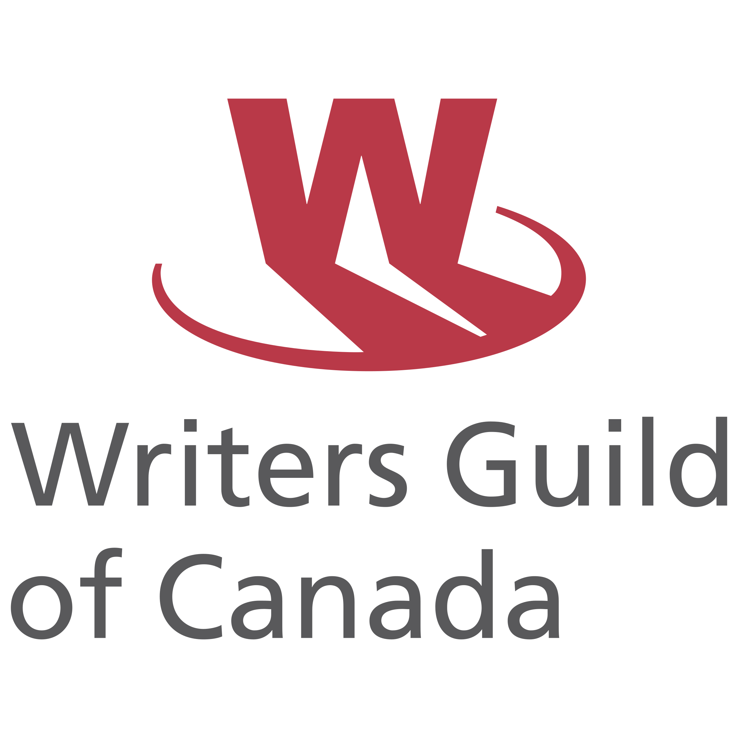 Writer clipart guild. Writers of canada logo