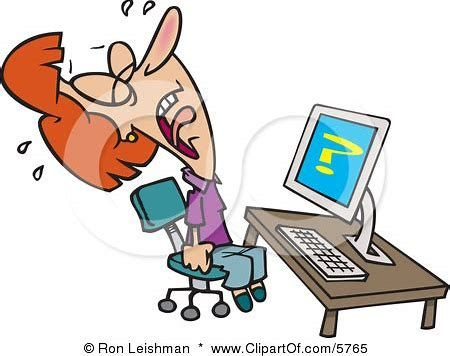 Image result for computer. Writer clipart inability