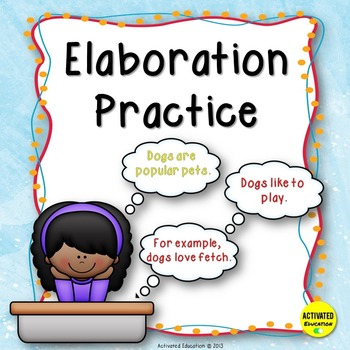 Writer clipart independent practice. Paragraph writing elaboration th
