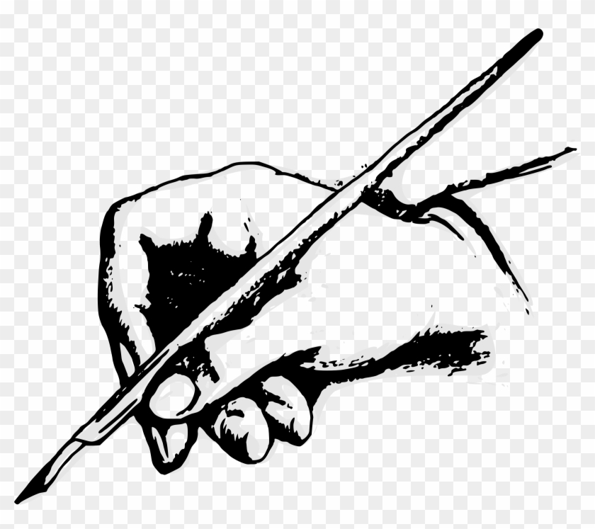 Writer clipart kalam. Quill pens paper writing