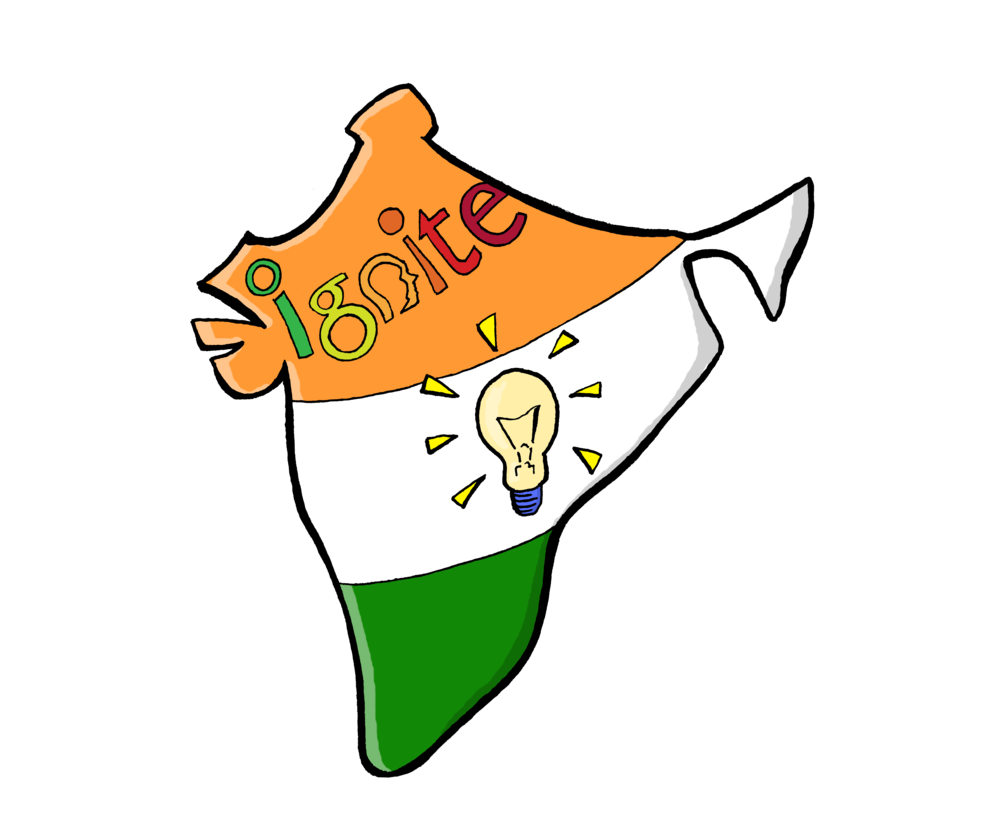 Young indian changemaker launches. Writer clipart kalam