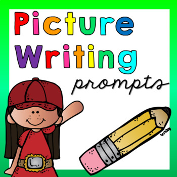With picture prompts . Writer clipart kindergarten writing