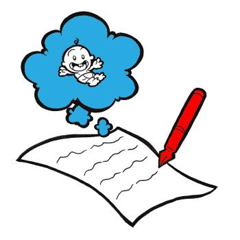 Six tips for writing. Writer clipart memoir