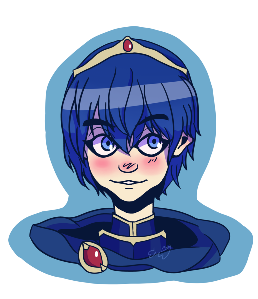 Writer clipart ode. Marth reeeeee by odetograpes
