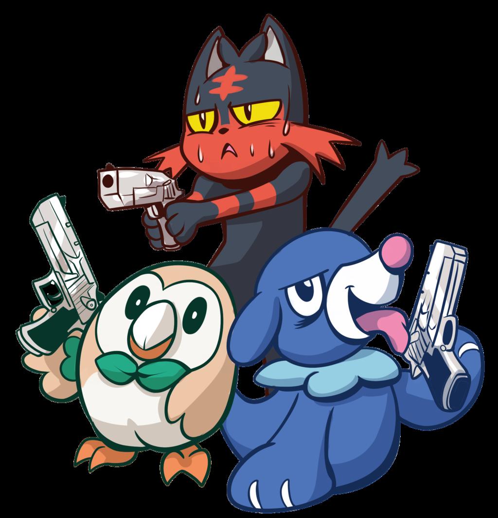 Writer clipart ode. Pokemon gun by anaugi