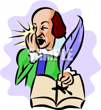 Color picture of a. Writer clipart old writing