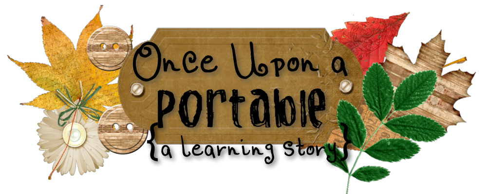 A portable . Writer clipart once upon time book