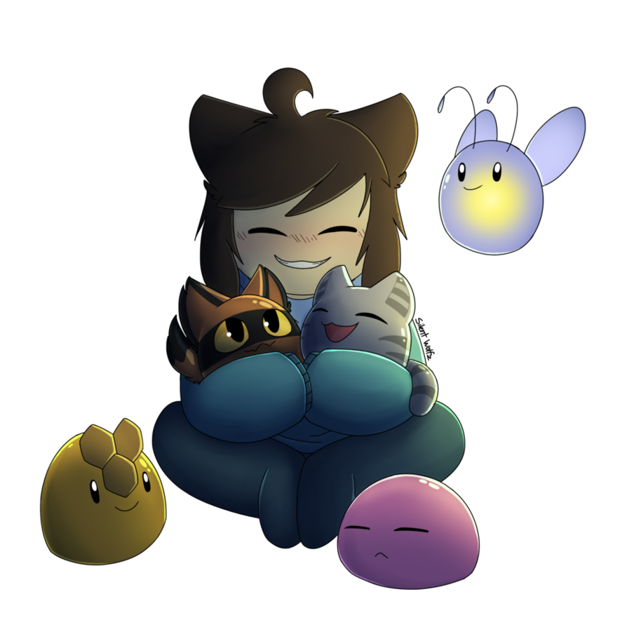 Writer clipart quietly. I love slime rancher