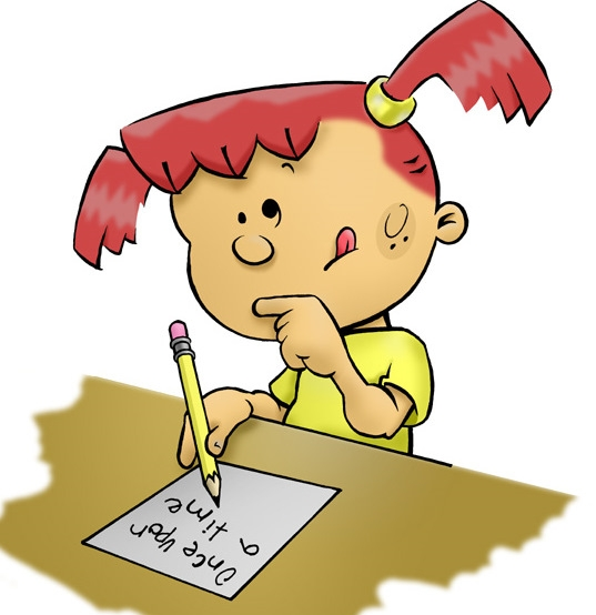 Writer clipart quietly. Free writing students cliparts