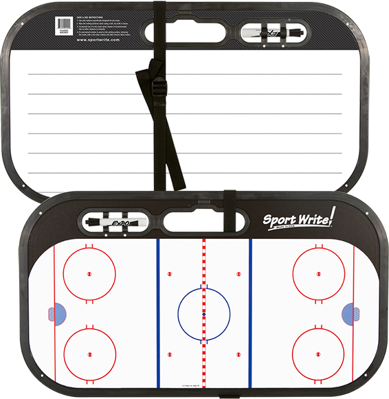 Classic ice hockey write. Writer clipart sport writer