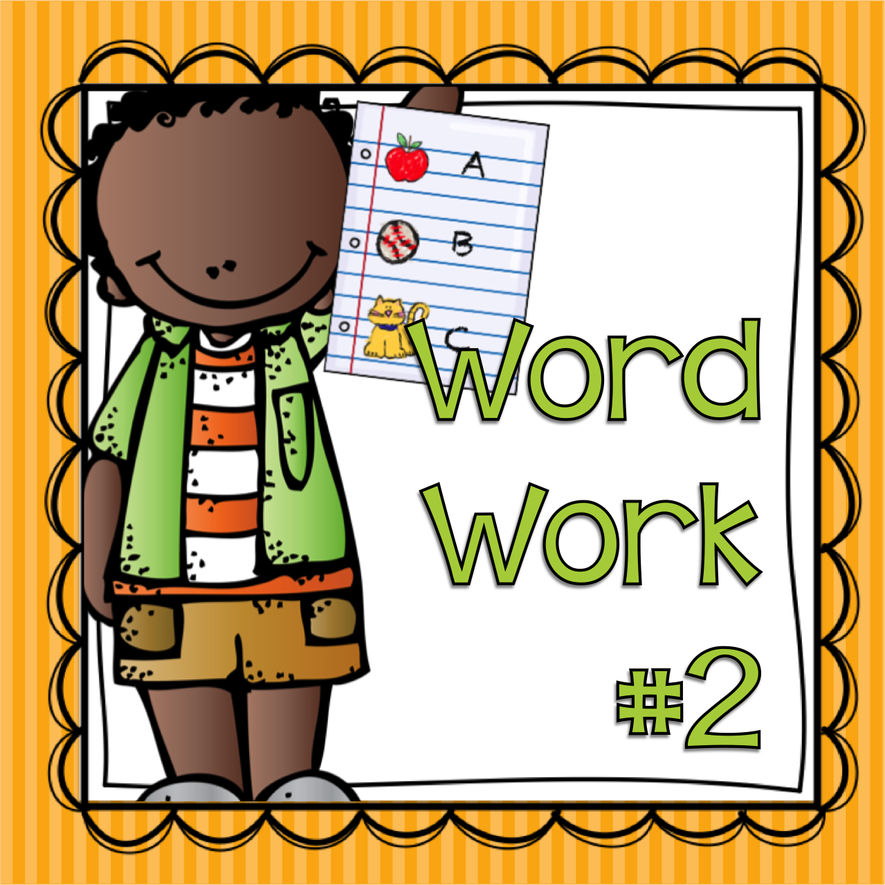 Writer clipart word work center. Organizing daily literacy stations