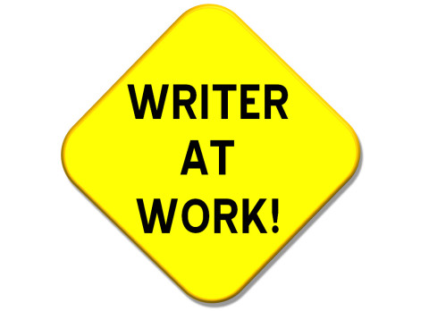 Writer clipart work sign. Take your writing seriously