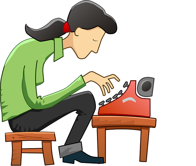 Writer clipart write this down. How to an author