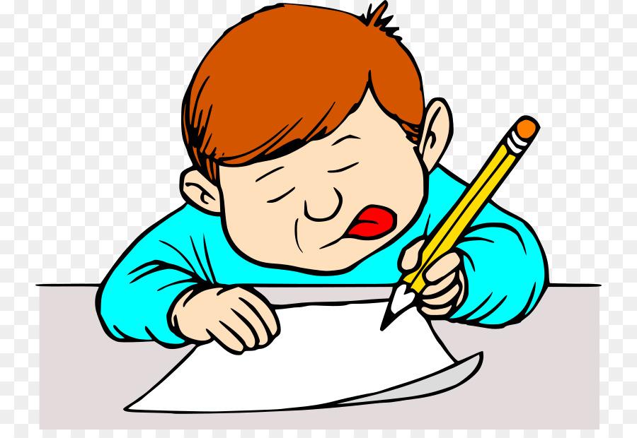 Writer clipart writer cartoon. Writing boy child transparent