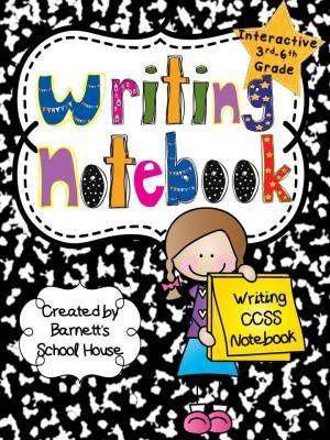 Writer clipart writer's notebook. Interactive writing notebooks ccss