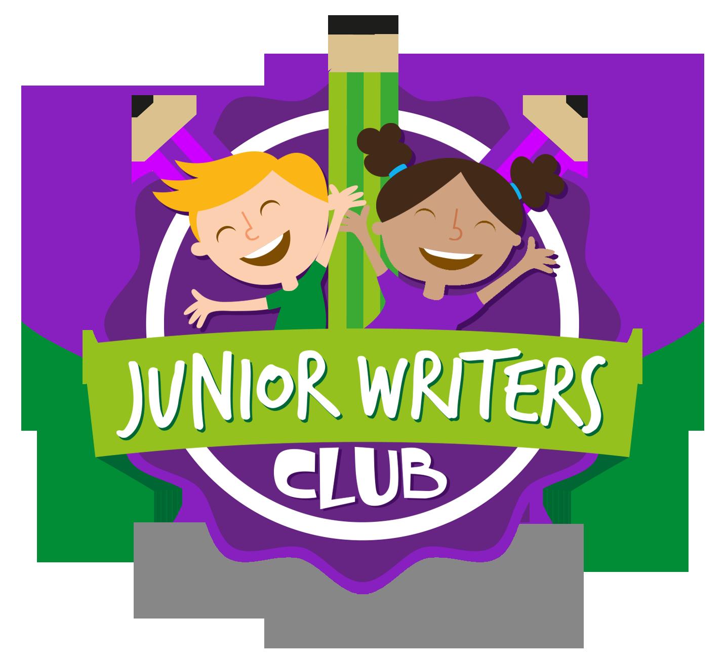 Writer clipart writing club. Home junior writers
