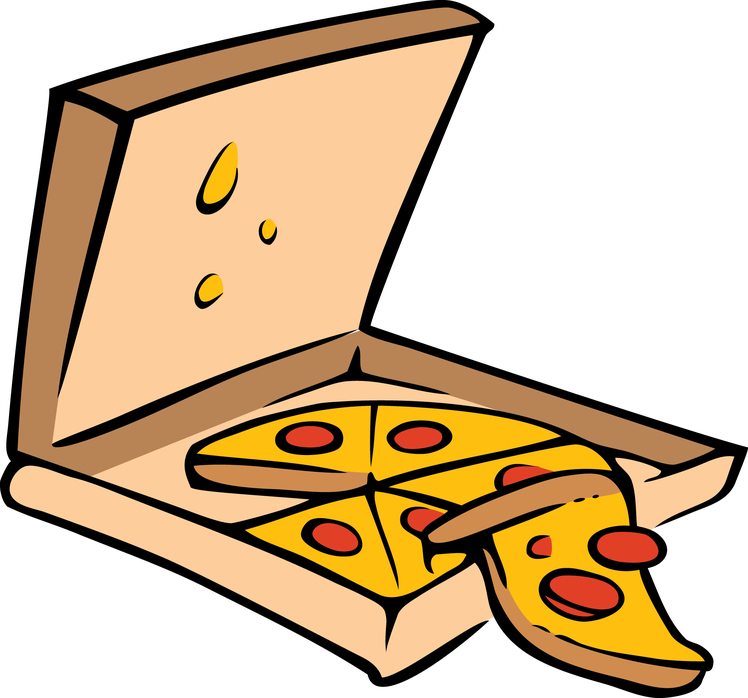 Writer clipart writing diary. Of a pizza delivery