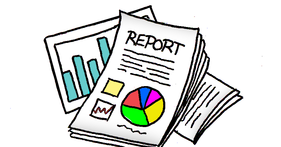 How to write a. Writer clipart writing report
