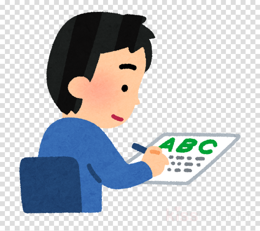 Writer clipart written examination. Educational background learning student