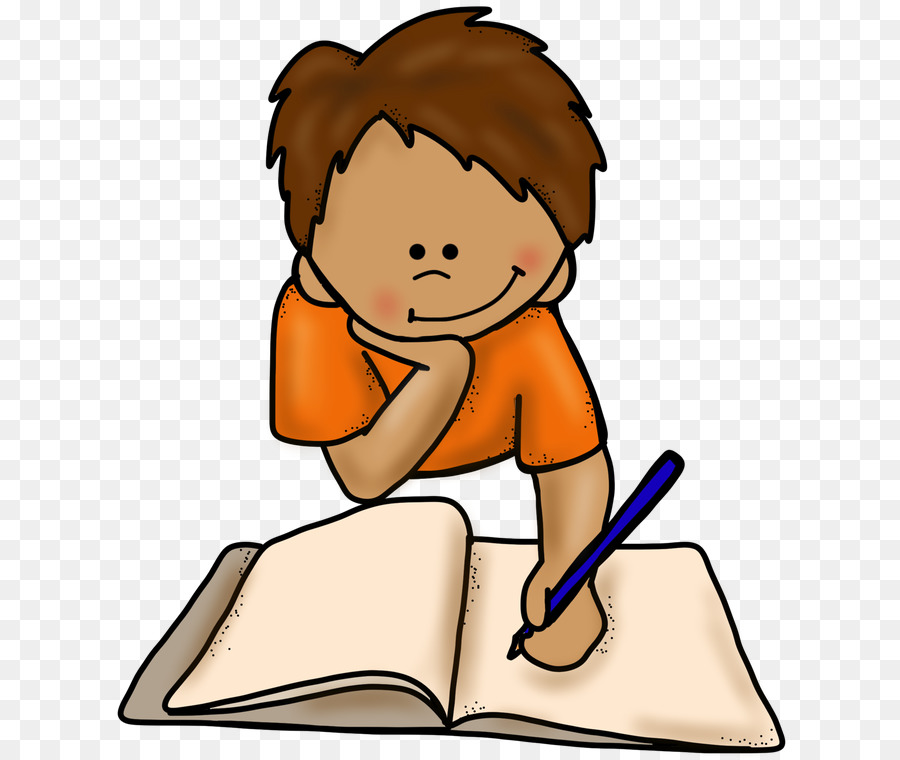 Writing clipart. Book clip art animated