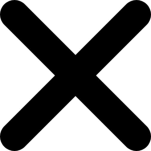 X clipart. Icon clip art library