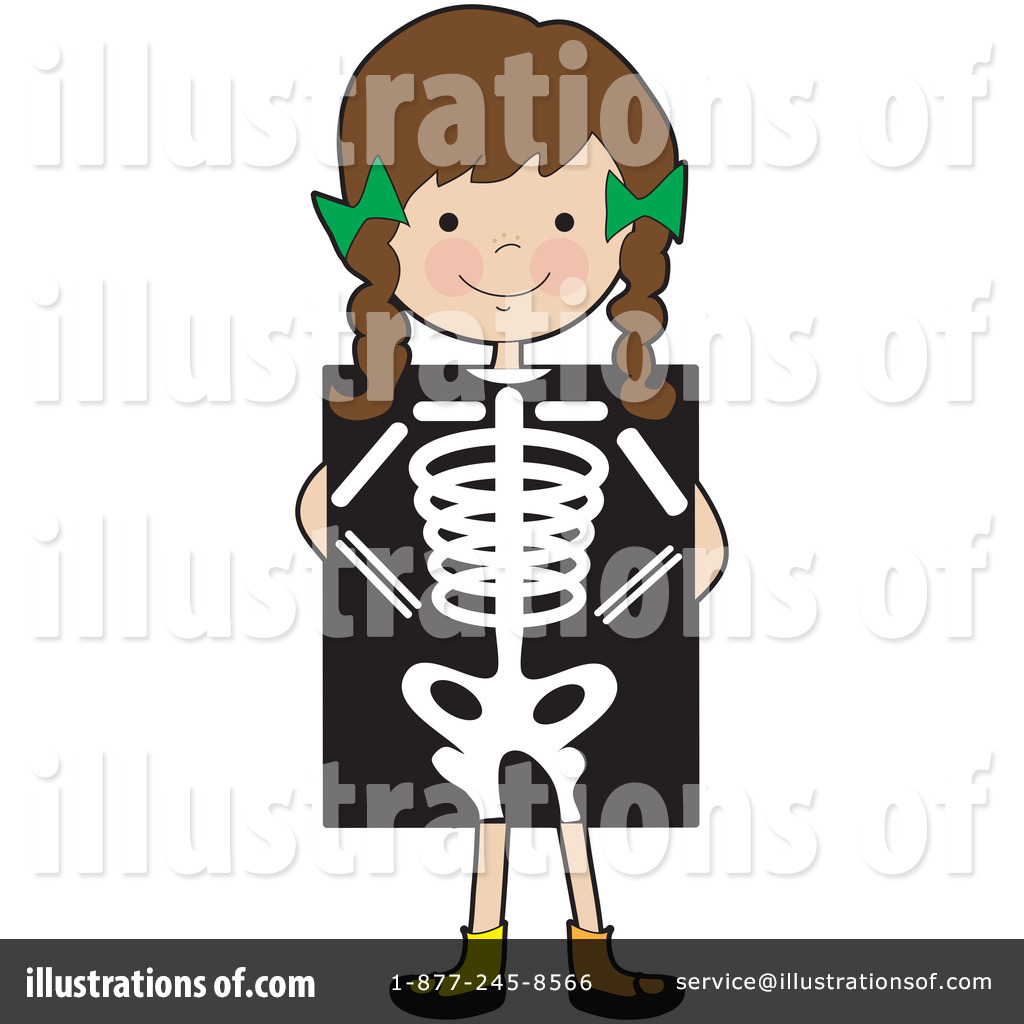 Xray clipart. Illustration by maria bell