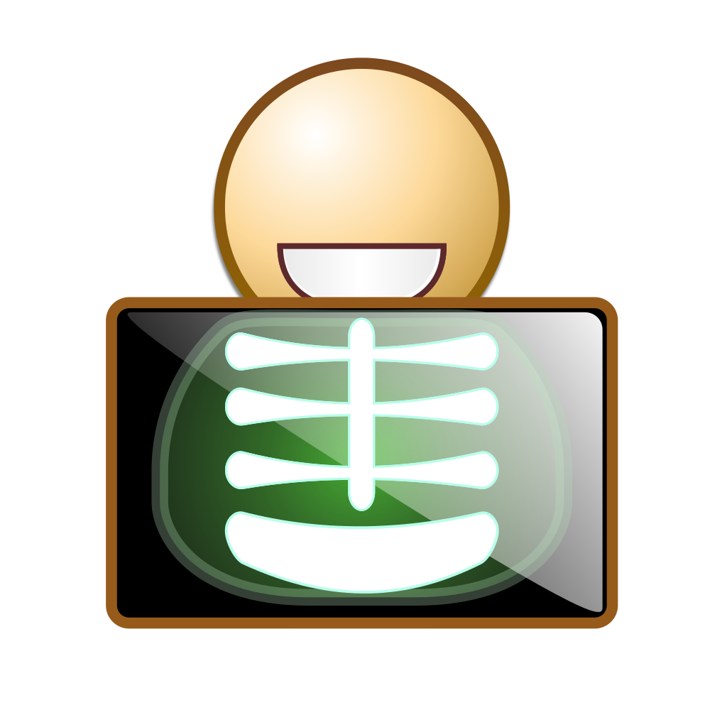 Xray clipart clip art. File x ray icon