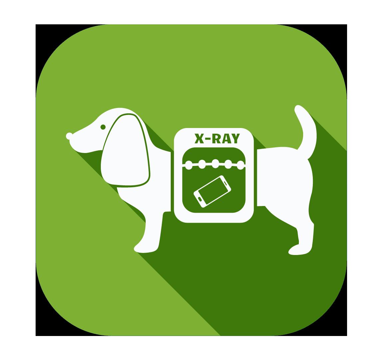 Certified long island animal. Xray clipart dog xray