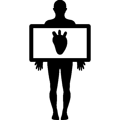Xray clipart heart. X ray generator digital