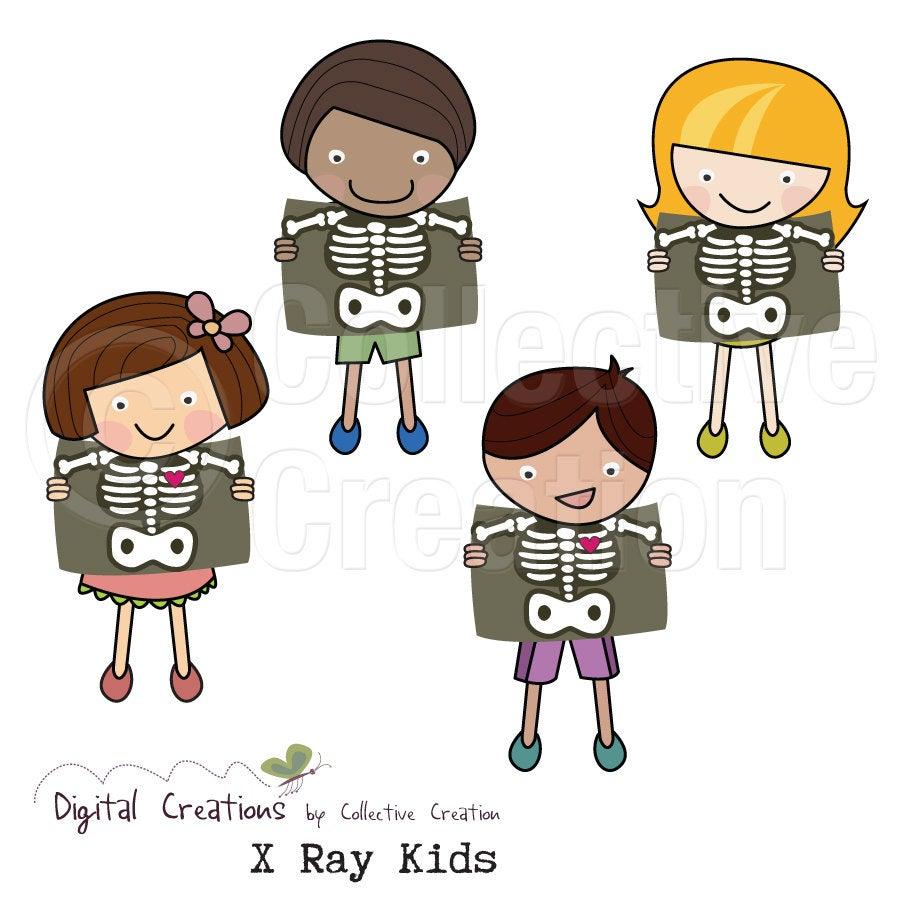 . Xray clipart kid