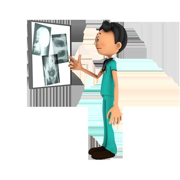 X ray cartoon clip. Xray clipart radiology