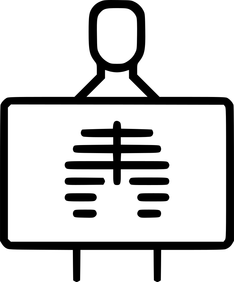 X ray png icon. Xray clipart svg