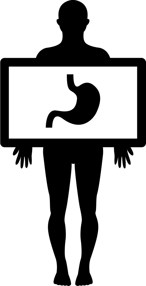 Xray clipart xray body. Human with x ray