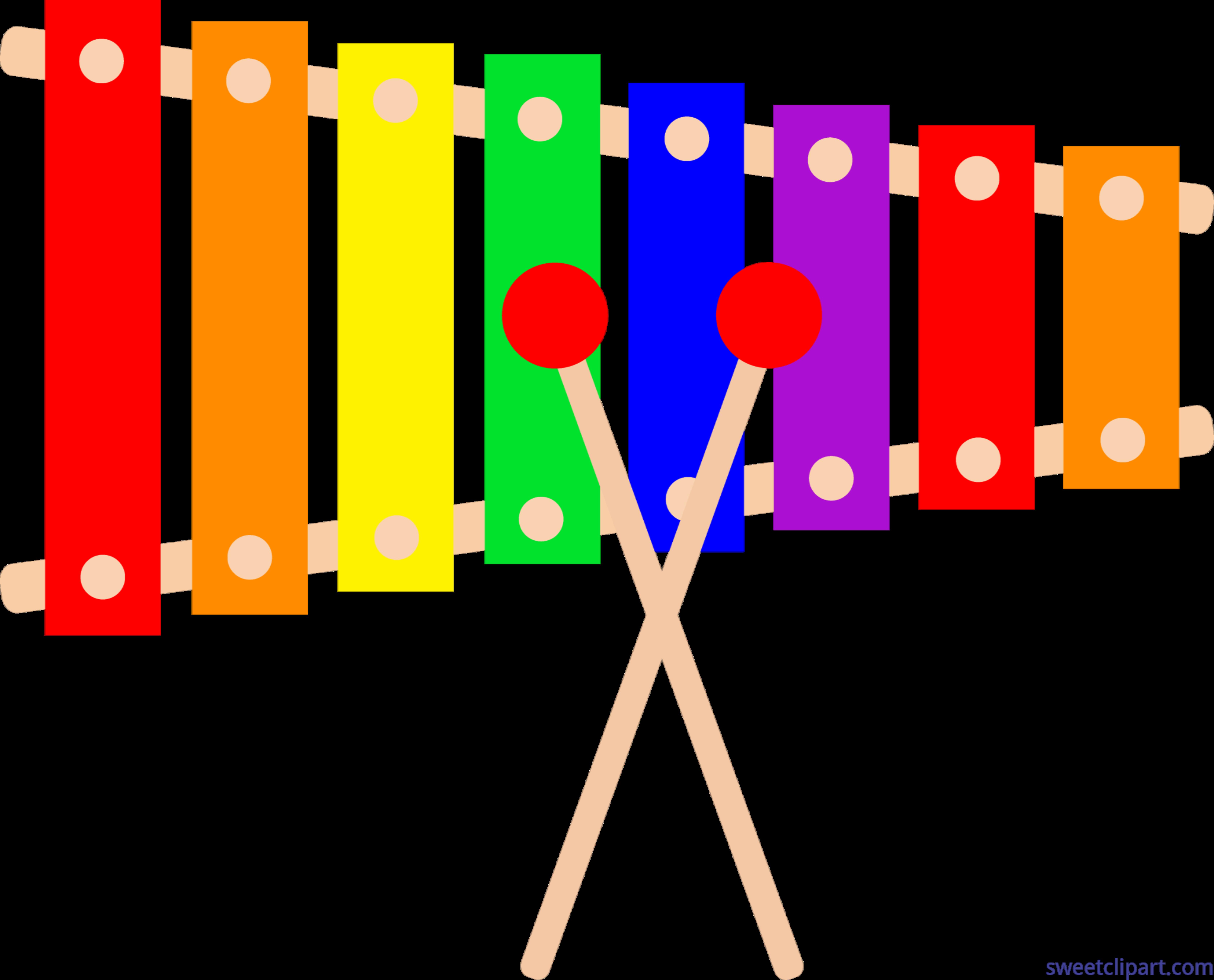 Xylophone clipart. Clip art sweet