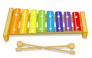 Xylophone clipart animated.  clipartlook