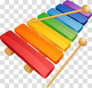 Transparent background png cliparts. Xylophone clipart cartoon