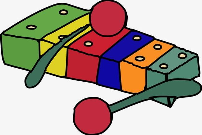 Png . Xylophone clipart cartoon