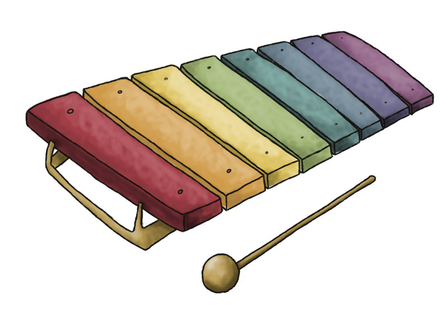 Xylophone clipart colorful. Free pictures download clip