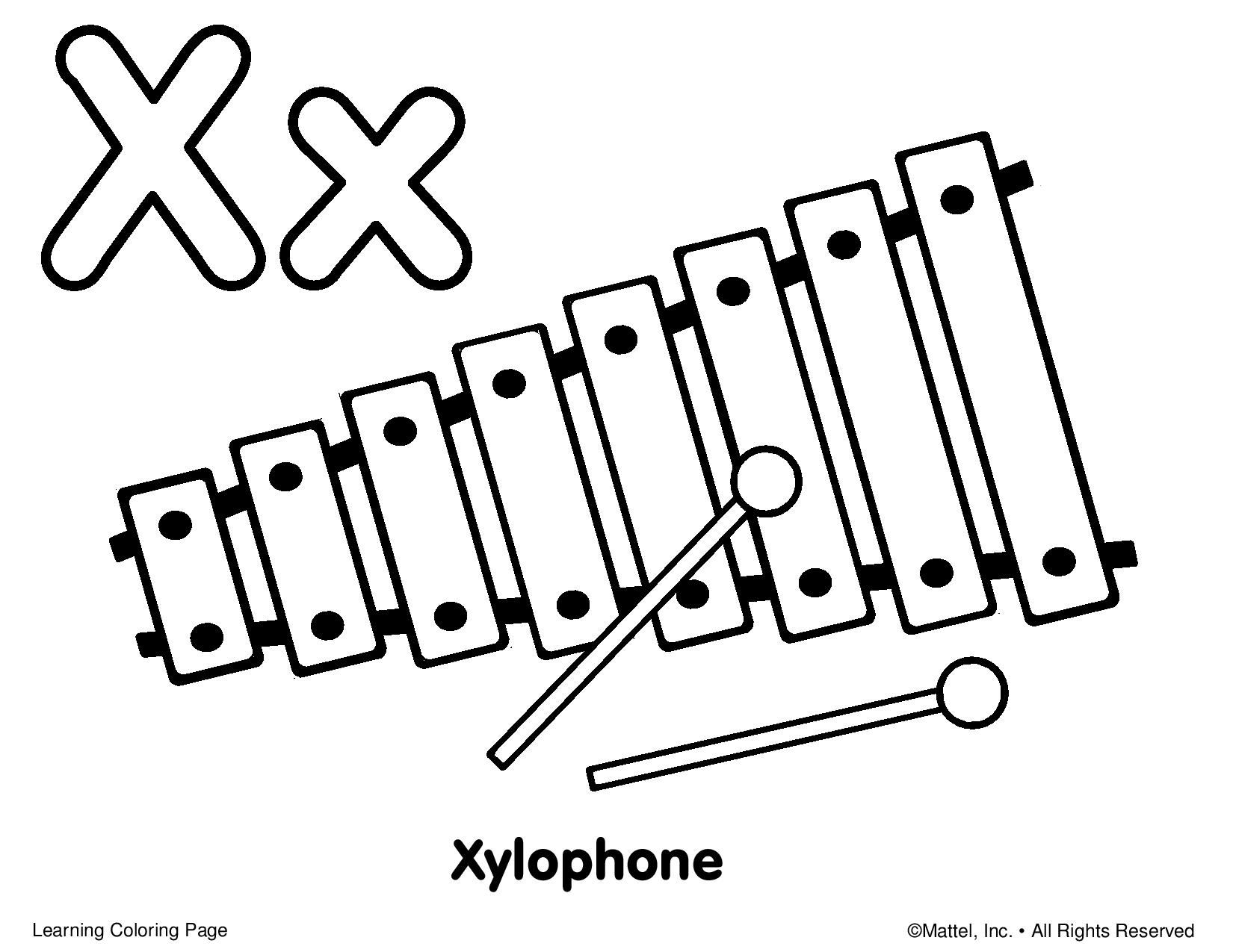 Xylophone clipart draw. Drawing free download best