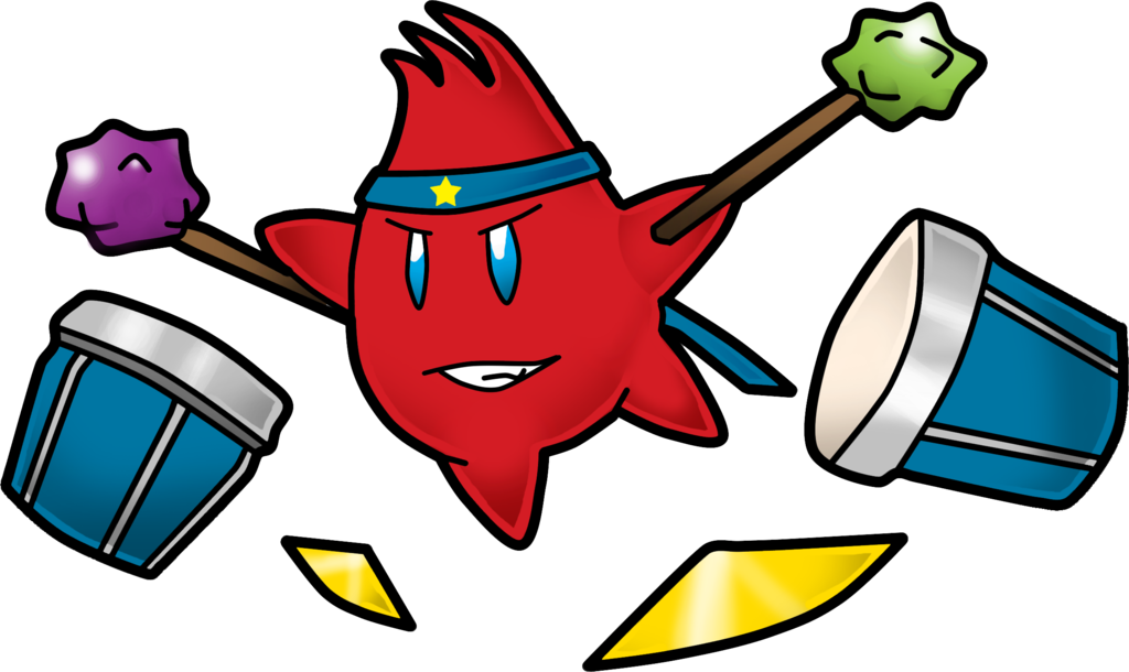 Paper mario partner sion. Xylophone clipart loud