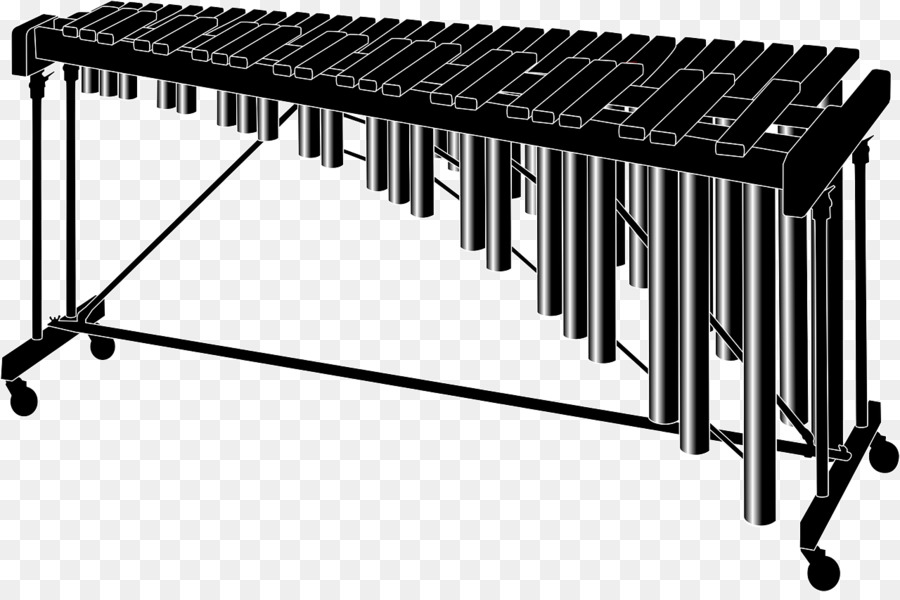 Xylophone clipart marimba. Piano cartoon keyboard line