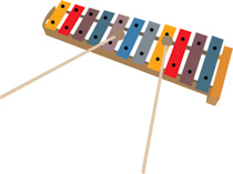 Free instruments clip art. Xylophone clipart musical instrument