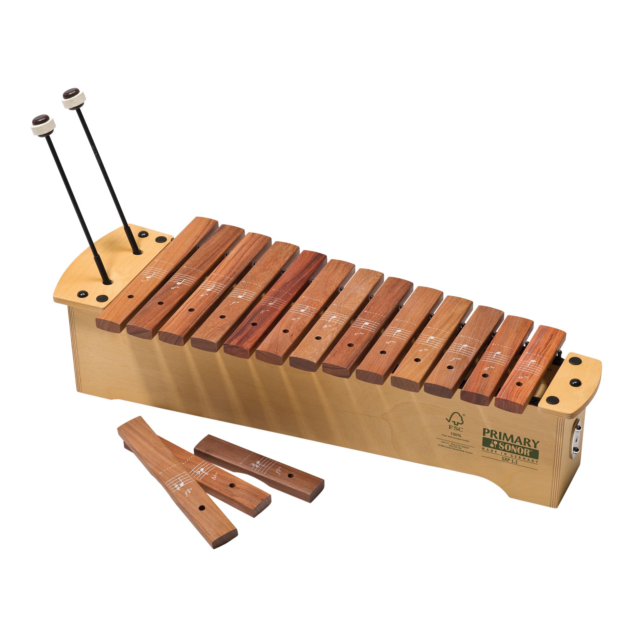 Sonor primary soprano diatonic. Xylophone clipart orff