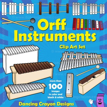 Xylophone clipart orff. Instruments musical clip art