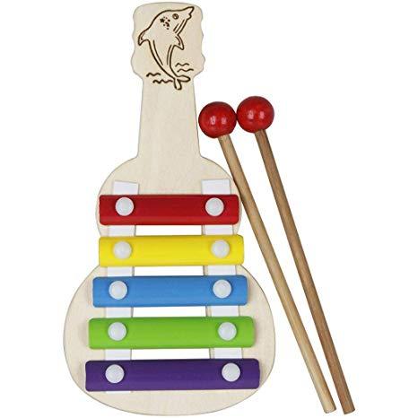 Xylophone clipart plan toy. Amazon com fikole wooden