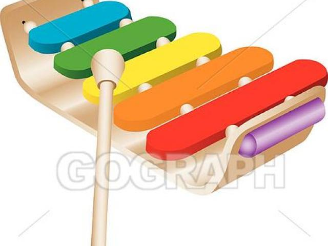 X free clip art. Xylophone clipart tool
