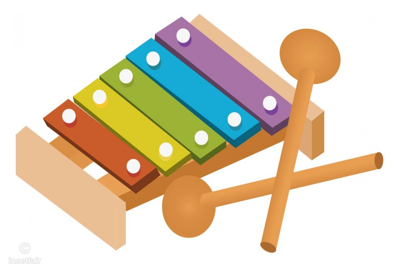Xylophone clipart tool. Free download clip art