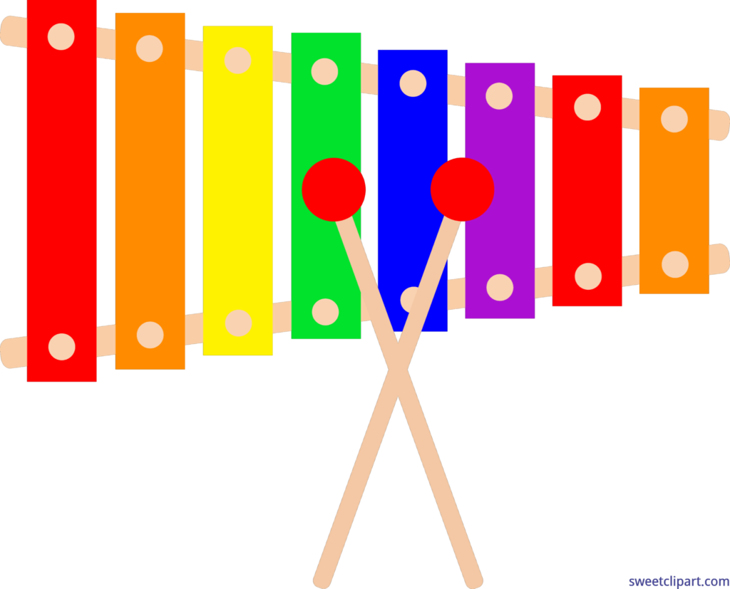 Free download clip art. Xylophone clipart tool