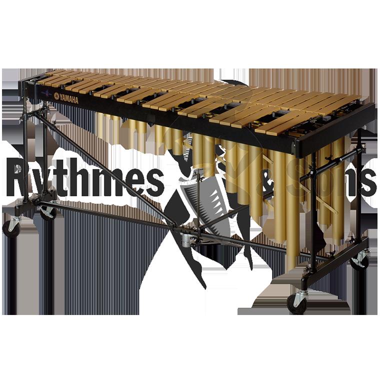 Marimba metallophone percussion . Xylophone clipart vibraphone
